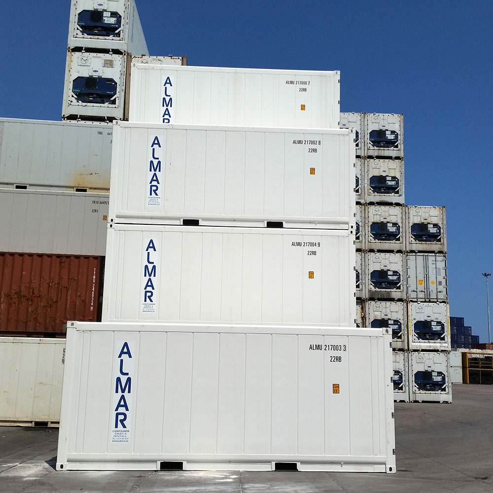 20ft Refrigerated Container Stack