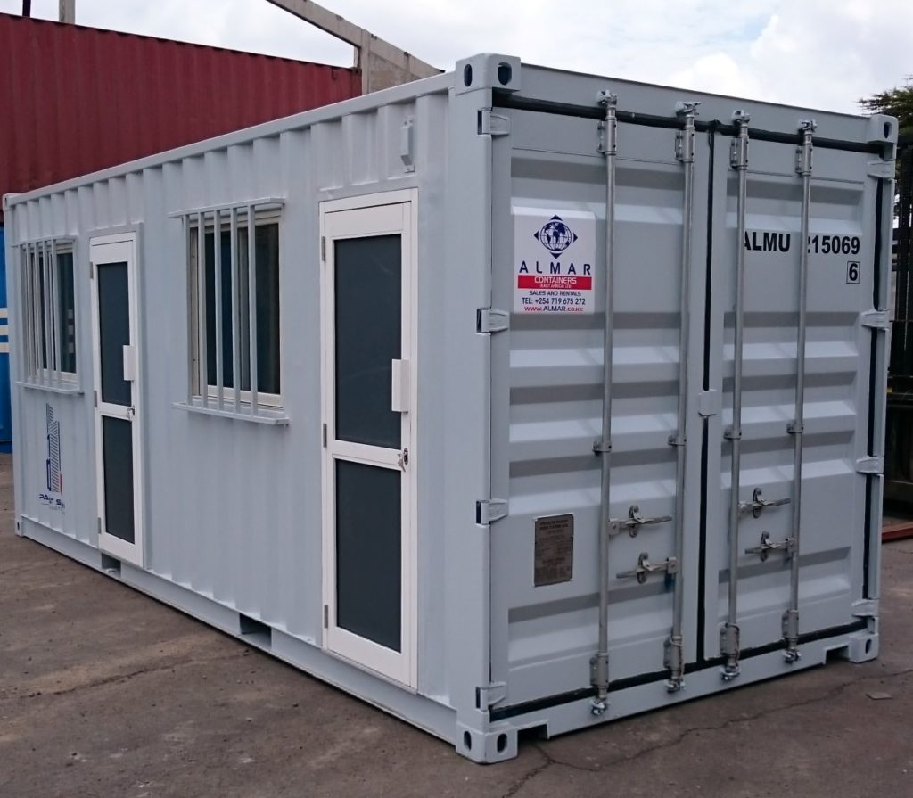 World Class Container Offices for Construction Company in ...