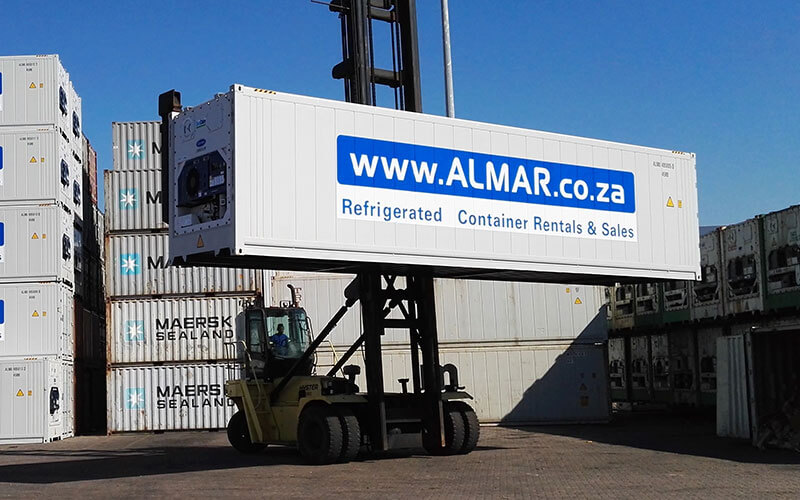 Refrigerated Shipping Container Rental