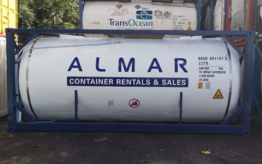 Almar 20ft ISO Tank - Refurbished