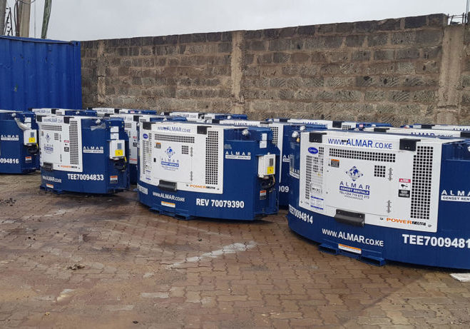 Clip-On Reefer Gensets